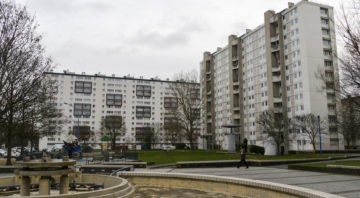 Batiments, Quartier des navigateurs, Choisy le Roi, Orly, 94, Val de Marne